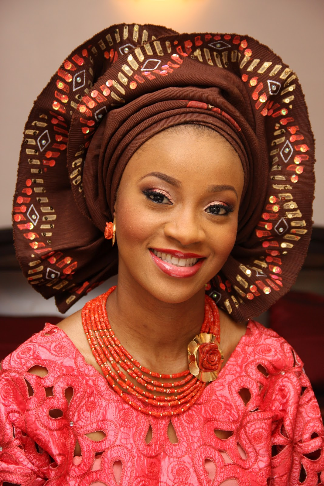 Traditional Wedding Makeup Tutorial : Nigerian Traditional Wedding Makeup Tutorial MAHA MAVEN