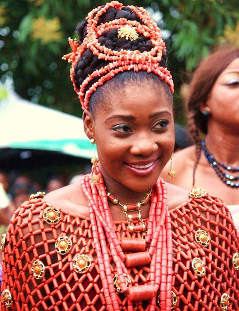Mercy Johnson Nigerian Traditional Wedding