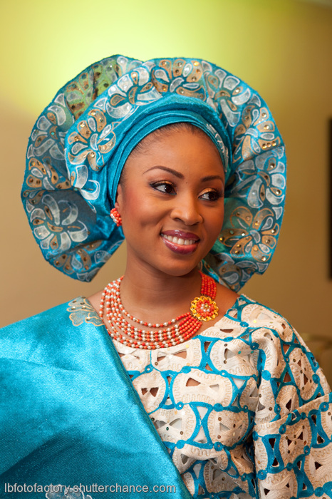 Nigerian Traditional Wedding Complimentary colors