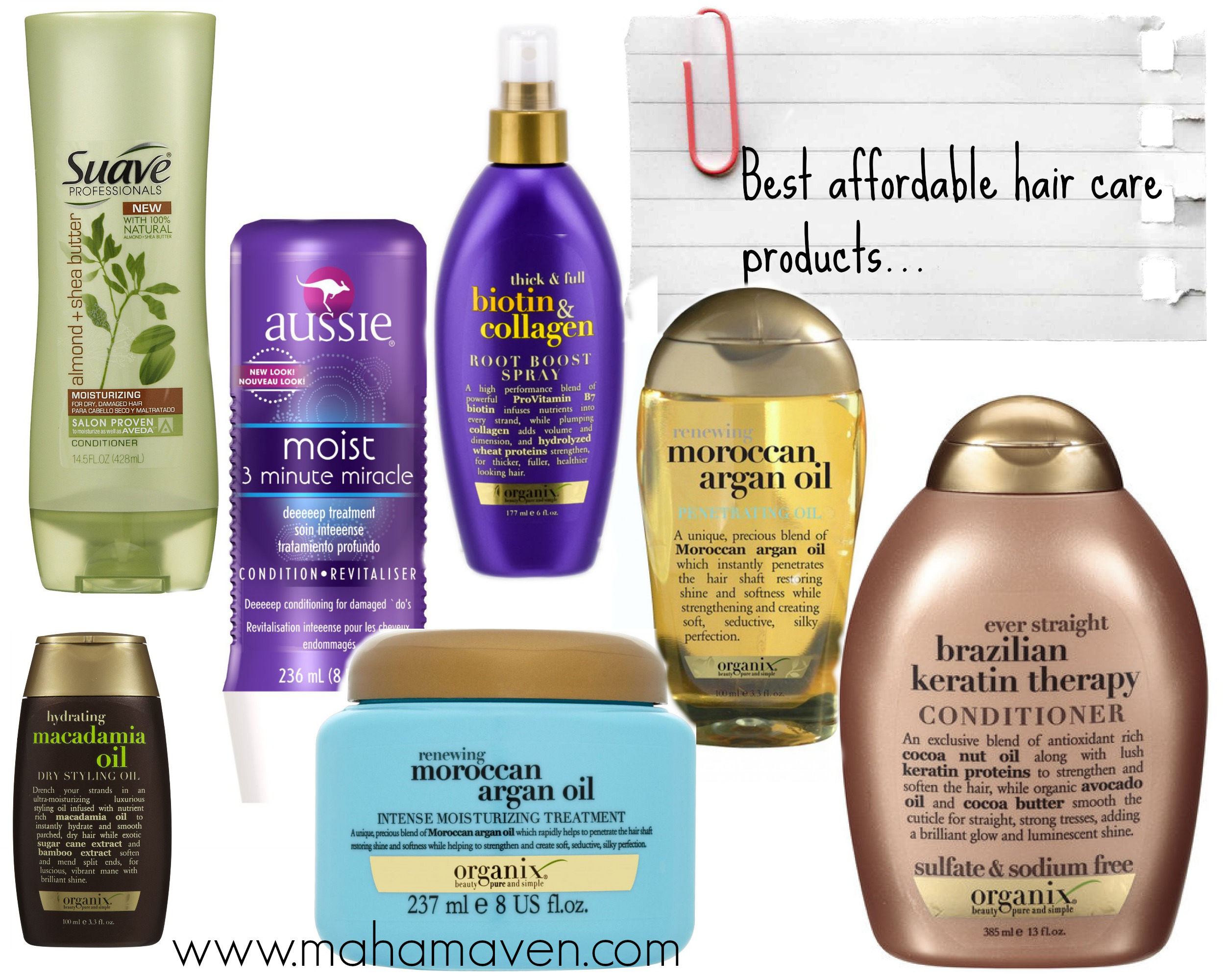 Best Hair Products for Healthy Hair: Drugstore Edition  MAHA MAVEN