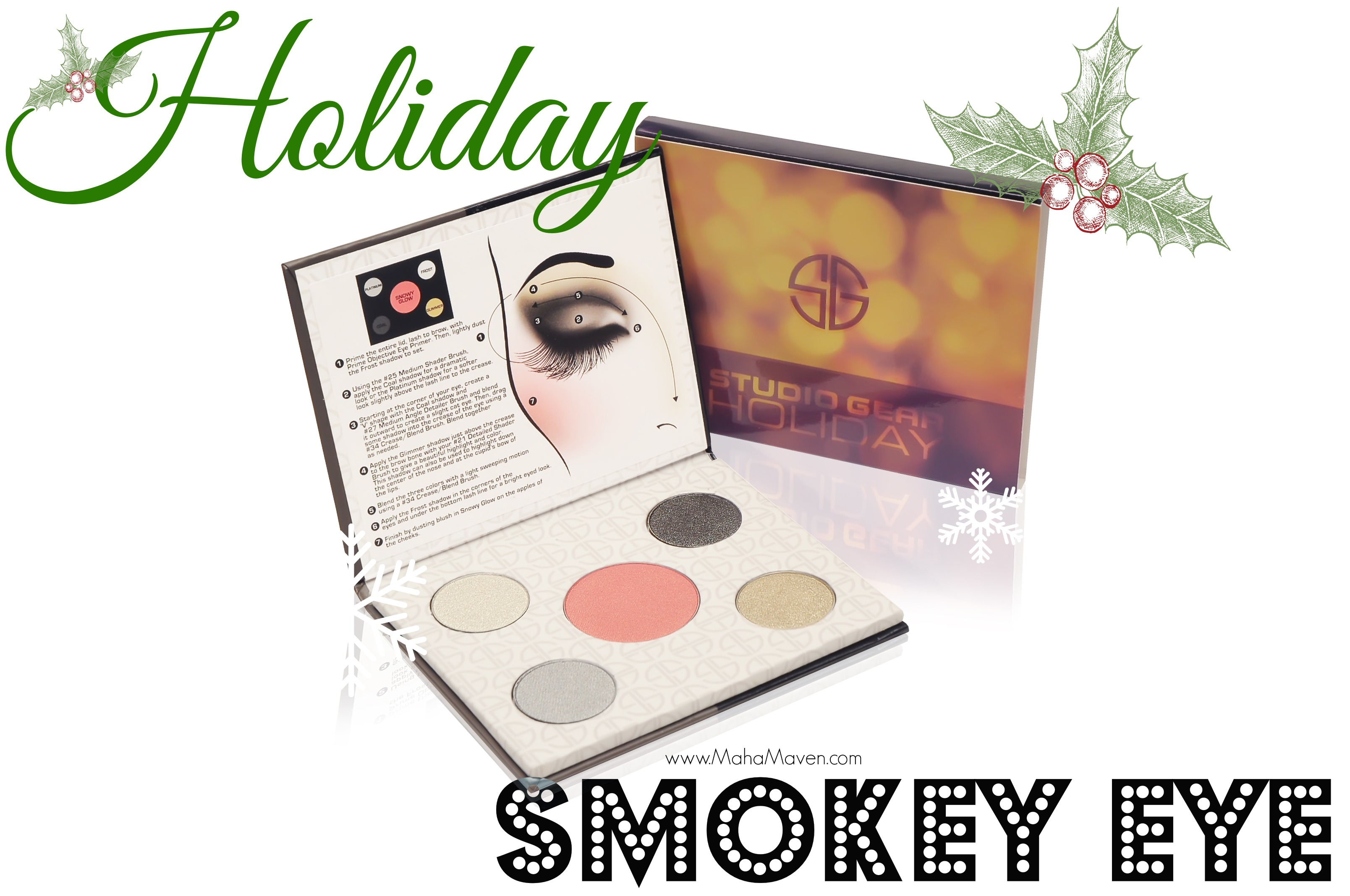 holiday smokey eye