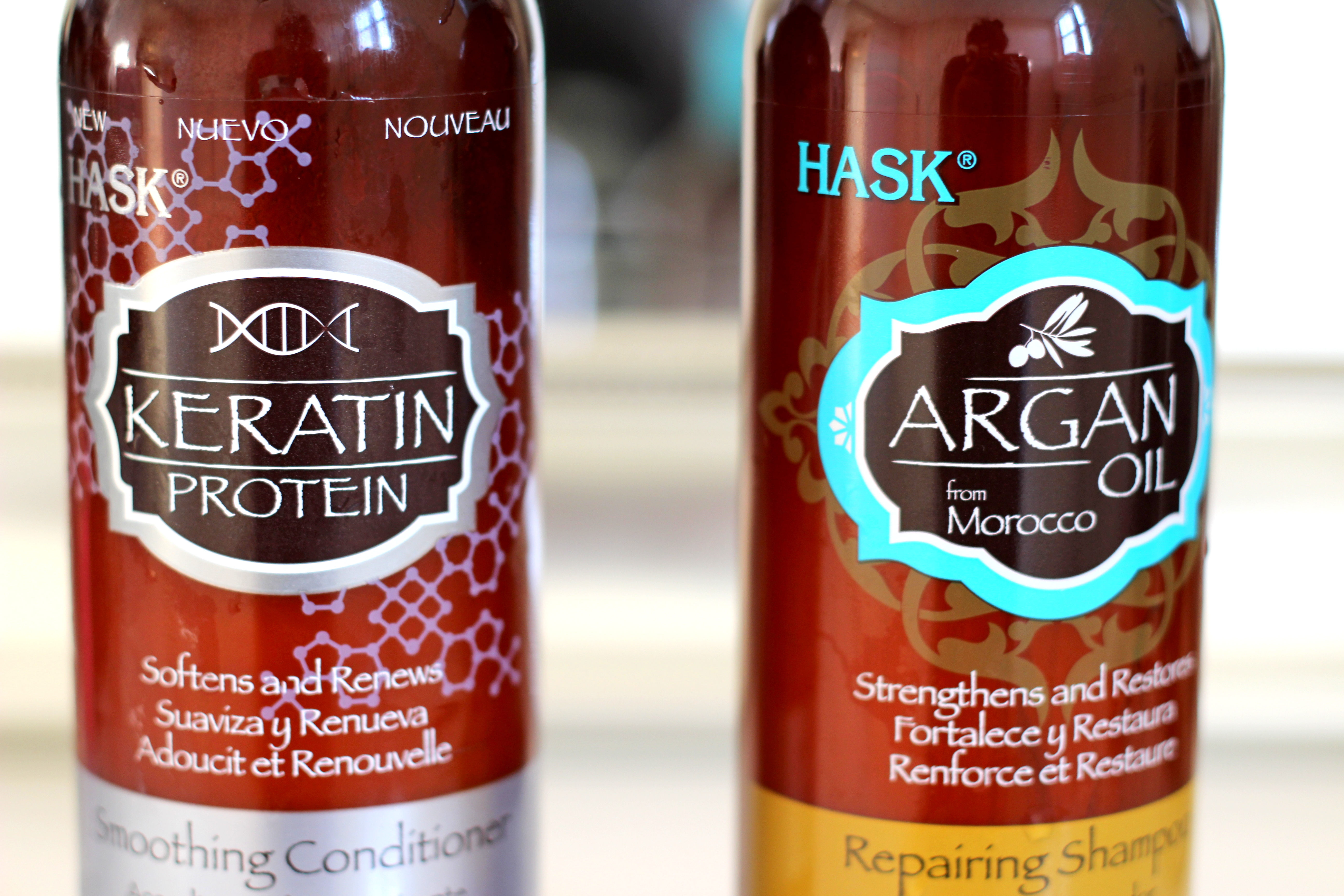 hask hair products review