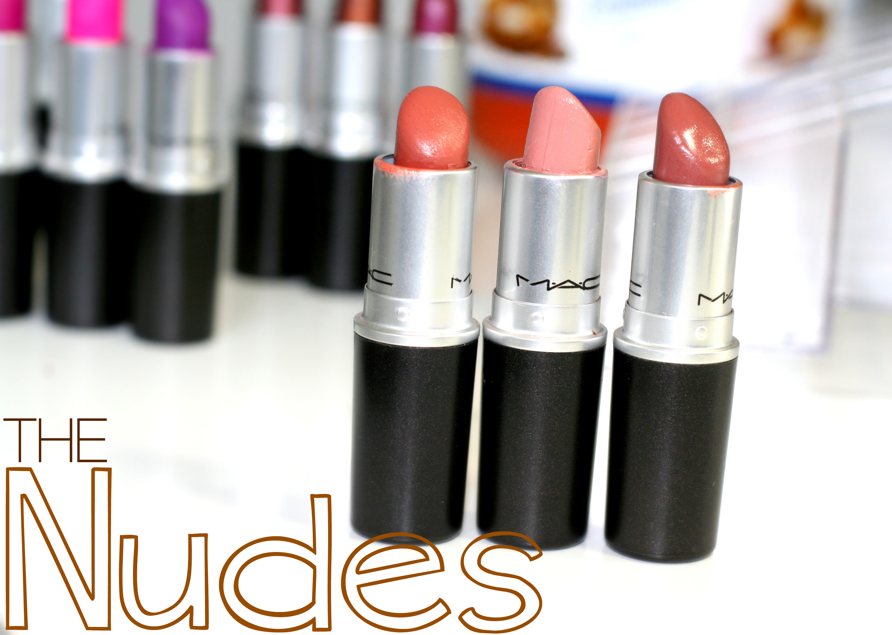 nude mac lipsticks