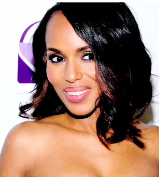 kerry washington makeup